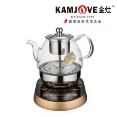 KAMJOVE/金灶 A-99全自动黑茶煮茶器电茶壶玻璃电水壶普洱养生壶 220v 0.8L