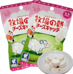 大和制果牧场の朝牛乳片/羊乳片干吃50g休闲零食小吃糖果 12袋/盒 牛奶味