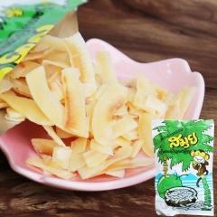 正品泰国进口 苏梅椰子片 samui小猴子 炭烤椰子脆片 椰子干 40g*3包 365(天)