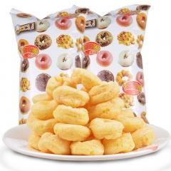 台湾进口 大同牛奶花生甜甜圈 办公室休闲儿童小零食品 60g*5包 300(天)