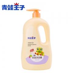 青蛙王子儿童洗发沐浴露 超值家庭装美白保湿洗发沐浴露 1.1L 美白保湿