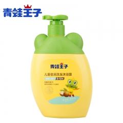 青蛙王子儿童倍润洗发露沐浴露 宝宝坚果牛奶型洗发沐浴乳 500ml 滋润保湿