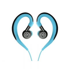 Pisen/品胜 R500耳挂式无线运动耳机通用蓝牙双耳塞线控跑步耳机 激情蓝 无线运动耳机