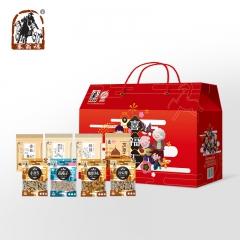 塞翁福喜福汇礼盒干货坚果炒货组合套装 年货送礼大礼包 1354g/8袋 420*190*280mm