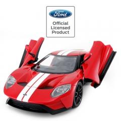 RASTAR/星辉 福特GT 仿真遥控汽车儿童玩具车模USB充电电动小轿车 典雅红 官方标配