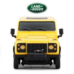 rastar/星辉 路虎卫士遥控越野汽车儿童电动遥控车模型玩具1:24 黄色 官方标配