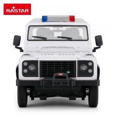 rastar/星辉 路虎遥控车警车儿童电动遥控汽车玩具越野车模型玩具 星河白 官方标配