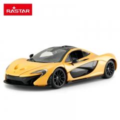 RASTAR/星辉 迈凯伦仿真合金玩具车男孩静态汽车模型1:24可开门 黄色 合金