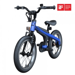 Ninebot Kids Bike儿童运动自行车 儿童单车 男女款童车 16寸男款消光蓝 铝合金