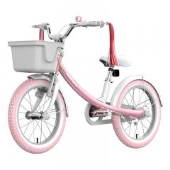 Ninebot Kids Bike儿童运动自行车 优雅款儿童单车女款 16寸女款粉色童车 铝合金