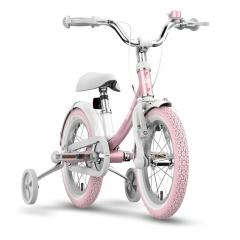Ninebot Kids Bike儿童自行车女款 儿童单车 宝宝自行车 14寸女款粉色带辅助轮 铝合