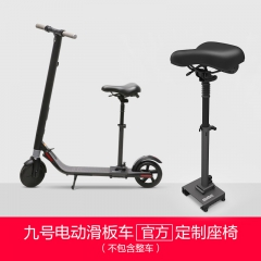 ninebot九号电动滑板车标准版座椅 成人代驾代步电动滑板车配件 九号滑板车座椅 2.5 (千克)