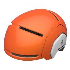 Segway儿童运动头盔 平衡车滑板车自行车轮滑旱冰头盔 橙色 头盔儿童款