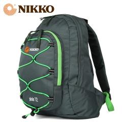 Nikko日高 小型户外背包男女通用12升运动休闲迷你双肩包NK2478 063墨绿 12L