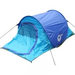 Nikko日高 帐篷户外防雨单人2人野外露营帐篷TT3003 深蓝/彩蓝 单层帐