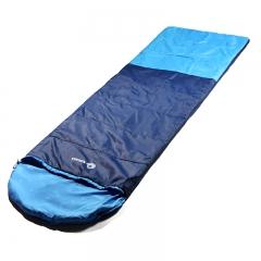 Nikko日高 成人睡袋单人睡袋棉睡袋保温保暖信封式春秋睡袋SL600 560深蓝/浅蓝 标准型(适