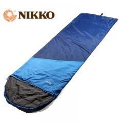 Nikko日高 成人睡袋单人睡袋棉睡袋保温保暖信封式春秋睡袋SL500P 141黑/橙 标准型(适合