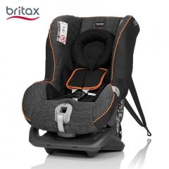 britax宝得适头等舱宝宝儿童安全座椅0-4岁汽车用新生婴儿可坐躺 曜石黑 三点式安装