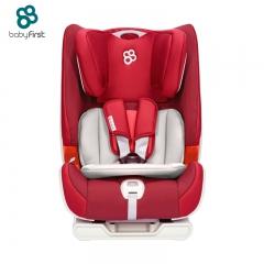 宝贝第一 汽车用儿童安全座椅车载0-3挡简易9个月-12岁海王盾舰队 经典红 海王盾舰队