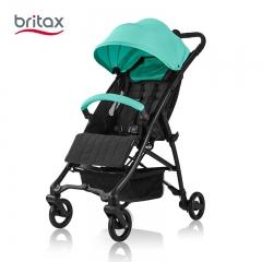 britax宝得适B-Light巧行轻便高景观婴儿车可坐躺易折叠宝宝推车 薄荷绿 铝合金